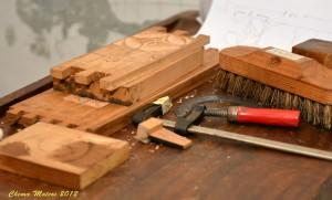 Ateneo Obrero de Villaviciosa - talla de madera