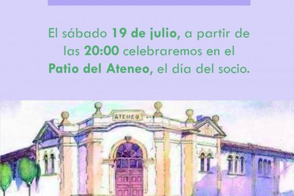 19 de Julio, Espicha día del Socio en el Ateneo