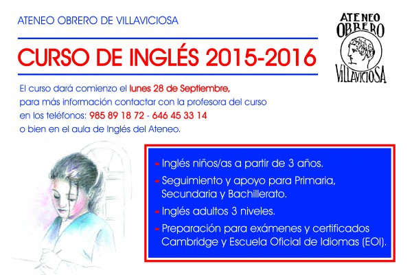 CARTEL INGLES 15-16-01