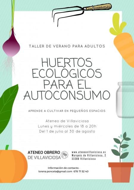 CARTEL_huertos ecologicos