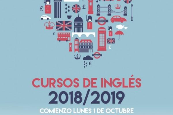 Cartel Ingles Carmen Ateneo